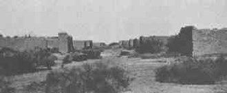 La Paz, Arizona - La Paz, circa 1890, already a ghost town.