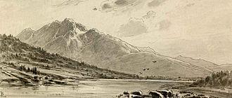 Zelenci - Zelenci Springs as depicted by Ladislau Benesch (1880–1900)