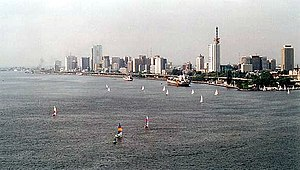 Skyline of Lagos