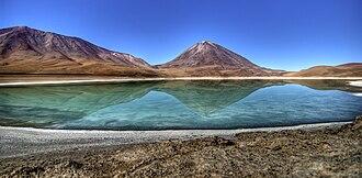 Central Andean dry puna - Laguna Verde, Bolivia