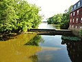 Lake Carnegie empties into the Millstone River at The Kingston Gristmill in Princeton, NJ USA June 2012 - panoramio.jpg