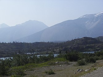 Lake from Klondike Highway, British Columbia 3.jpg