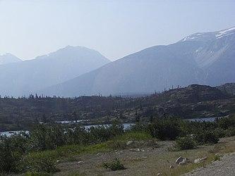 Lake from Klondike Highway, British Columbia 3.jpg