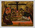 Lamentation by Emmanuel Lambardos (Byzantine museum).jpg