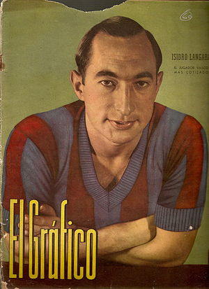 Real Oviedo - Isidro Lángara won three consecutive Pichichi trophies from 1933-34 to 1935-36.
