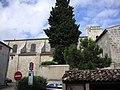 Lansargues (Hérault, Fr) église vue du nord.JPG