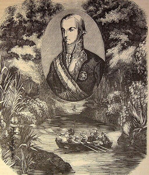 """File:Las Glorias Nacionales, 1852 """"El teniente general don Ramón García de León, primer marqués de Casa Pizarro (4013967788).jpg"""
