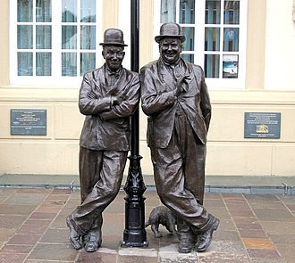 Ulverston - Stan Laurel and Oliver Hardy Statue