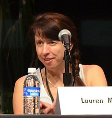 Myracle at the 2012 LA Times Festival of Books