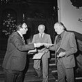 Laurens Janszn Costerprijs voor uitgever Geert van Oorschot in Haarlem Van Oor, Bestanddeelnr 929-2076.jpg