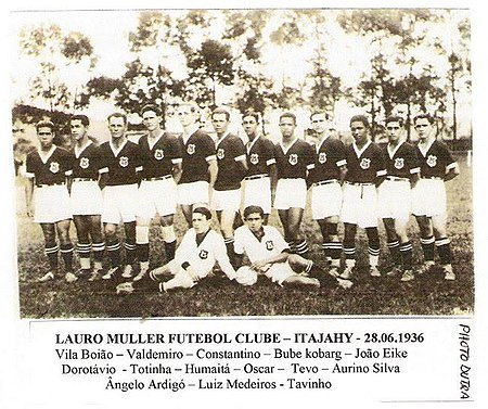 Time do Lauro Muller F.C.- 1936