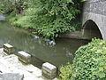 Lavoir et pont sur la Seulles1.JPG