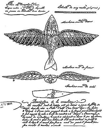 Jean-Marie Le Bris - The 1857 flight patent by Le Bris