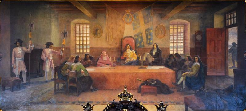 Le Conseil souverain.