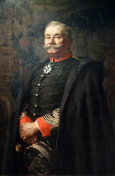"""Sabre Briquet """"Versailles"""" Juin 1815 avec sa cravate 393px-Le_lieutenant-colonel_Joseph_Albert_Deport_-_Paul_Jobert"""