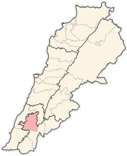 Localisation au Liban