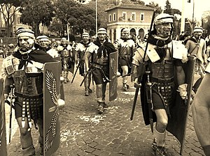 Legio XX Valeria Victrix - Re-enactment of the Legion XX v.v.
