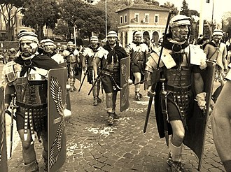 Legio XX Valeria Victrix - Re-enactment of the Legion XX v.v.