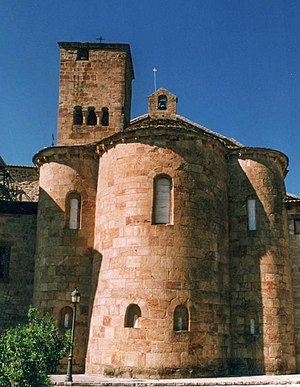Repoblación art and architecture - Monastery of Leyre, Navarre.
