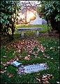 Leonard Bernstein Grave, Sunset, Green-Wood Cemetery.jpg