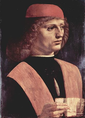 Franchinus Gaffurius - Portrait of a Musician by Leonardo da Vinci, possibly Franchinus Gaffurius.
