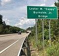 """Lester W. """"Cappy"""" Burnside, Jr. Bridge in Bridgeport, West Virginia.jpg"""