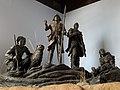 Lewis, Clark, York, Sacagawea, and dog Seaman.jpg