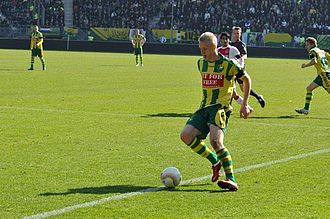 Lex Immers - Immers playing for ADO Den Haag in a match against Ajax in 2011.
