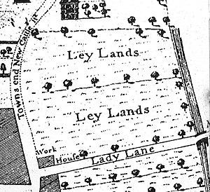 Leylands, Leeds - Ley Lands 1726