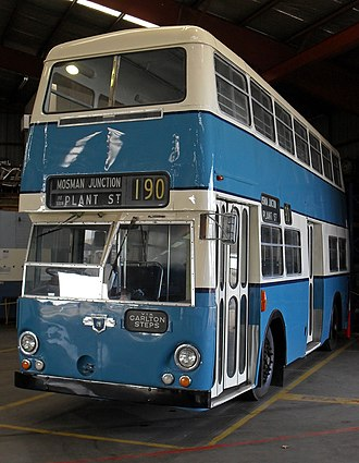 Public Transport Commission - Image: Leyland PDR1A 1 Atlantean 1016