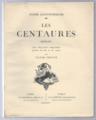 Lichtenberger, André, Les Centaures, reed1924.png