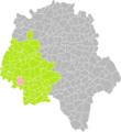 Ligré (Indre-et-Loire) dans son Arrondissement.png