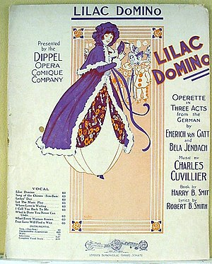 The Lilac Domino - Sheet music cover
