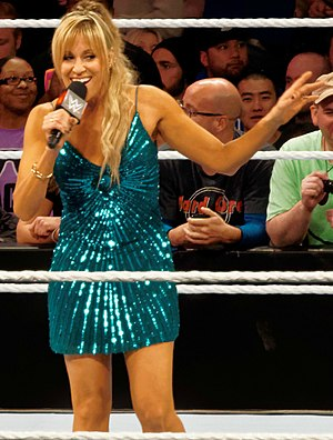 Lilian Garcia - Garcia in March 2015