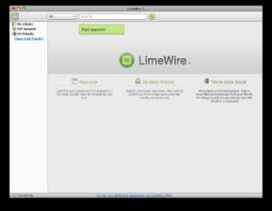 LimeWire - Image: Limewire 5 0 11 beta