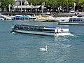 Limmatschiff 'Felix' - Limmat - Limmatquai - Quaibrücke 2012-08-23 12-51-28 (P7000).JPG