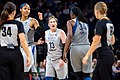 Lindsay Whalen protests a technical foul call in the Minnesota Lynx vs Dallas Wings game.jpg