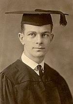 Linus Pauling at graduation from OSU