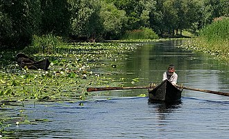 Lipovans - Lipovan fisherman in the Danube Delta