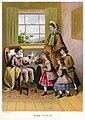 Lithography by Kronheim and Co for A Visit to Aunt by Agnes Agnes Giberne-The Visit.jpg