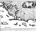 Livorno map of the town (1720) by Alberto Carlo Seutter 01.jpg