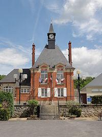 Lizy (Aisne) mairie.JPG