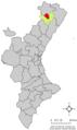 Localització d'Ares del Maestrat respecte del País Valencià.png