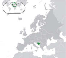 Description de l'image  Location Bosnia-Herzegovina Europe.png.
