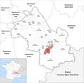 Locator map of Kanton Le Pont-de-Claix 2019.png
