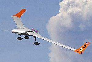 Lockheed Martin X-56 - The X-56A on its first flight