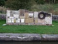 Lockside Sculpture, Caldon Canal, Stockton Brook, Staffordshire - geograph.org.uk - 597618.jpg