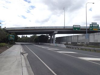 Loganholme, Queensland - Logan Motorway overpass, 2016