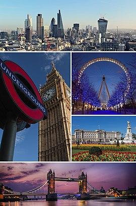 ... London Eye e Pal&#...