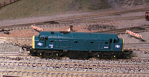 """Lone Star Toys - A class 23 """"Baby Deltic"""" Treble-O-Lectric series engine from about 1960."""